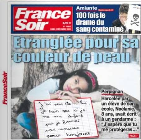 première page France Soir